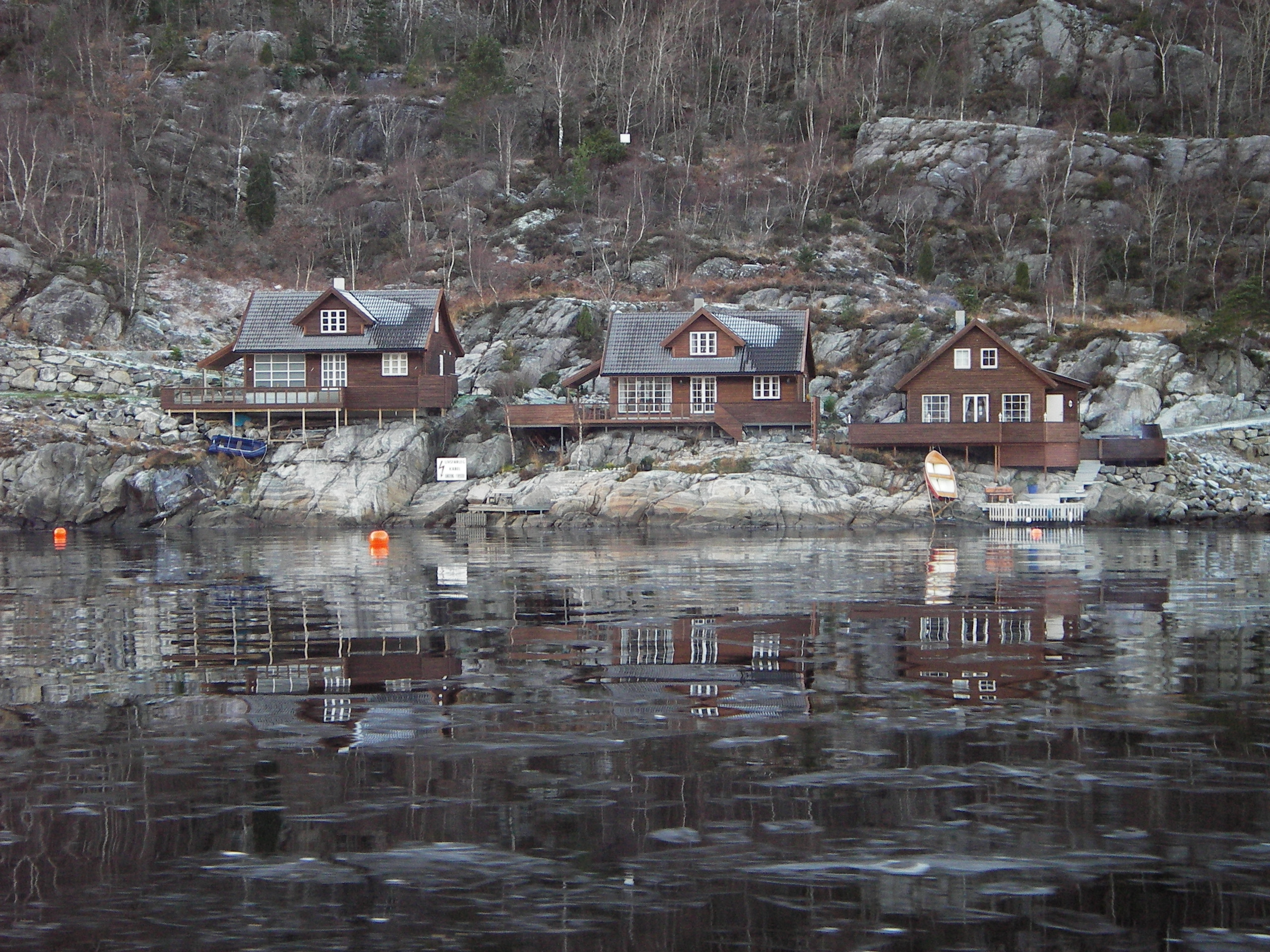 Houses on Shore